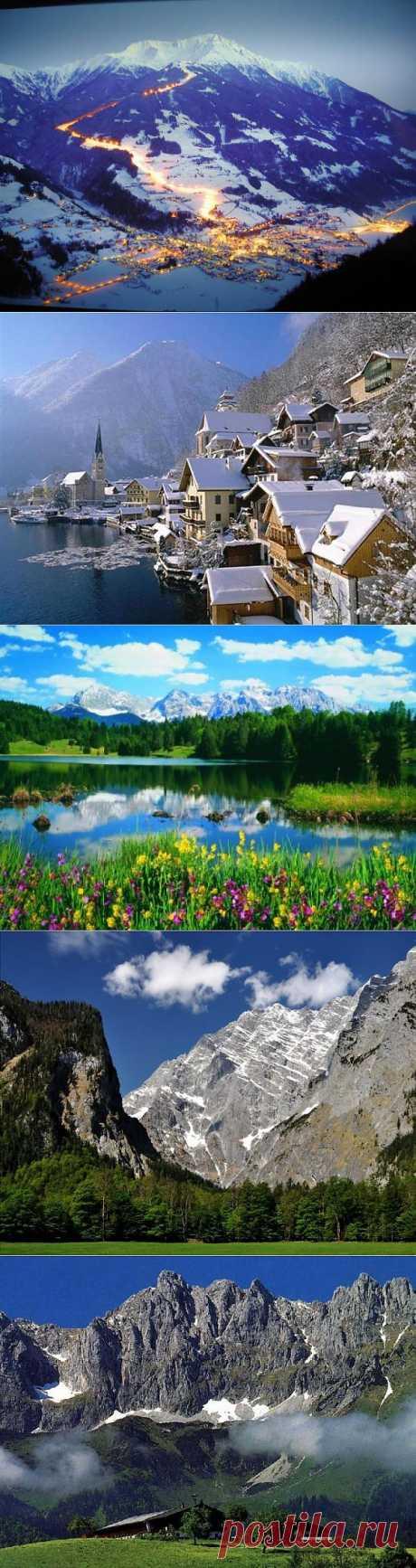 (+1) - Сказочная красота Австрии! | УДИВИТЕЛЬНОЕ