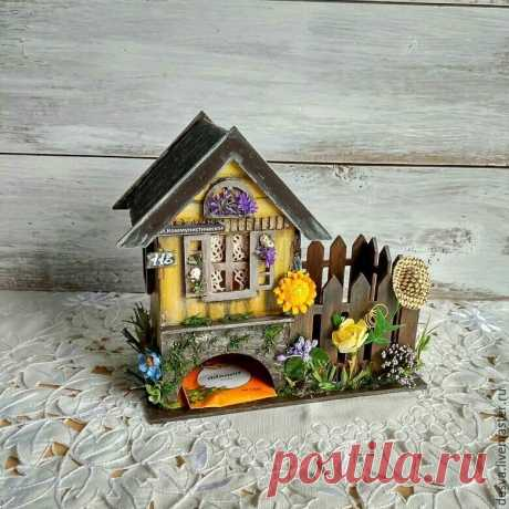 ""\""""Summer in the village"""" – to buy a tea lodge with a konfetnitsa in online store at the Fair of Masters with delivery - 6Z83BRU  Moscow""
