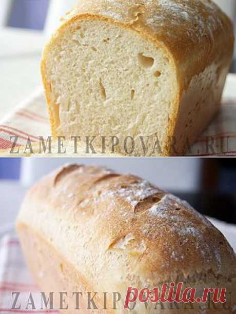 fresh airy bread on mineral water.