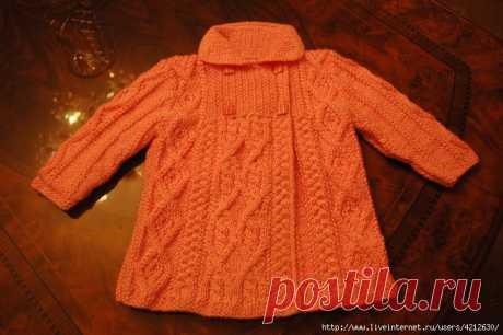 Весеннее пальто для девочки (Тати Бо)
