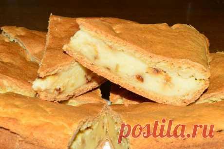 Testo y el relleno se deshacen en la boca - el pastel con el queso y las patatas - las recetas Simples Овкусе.ру