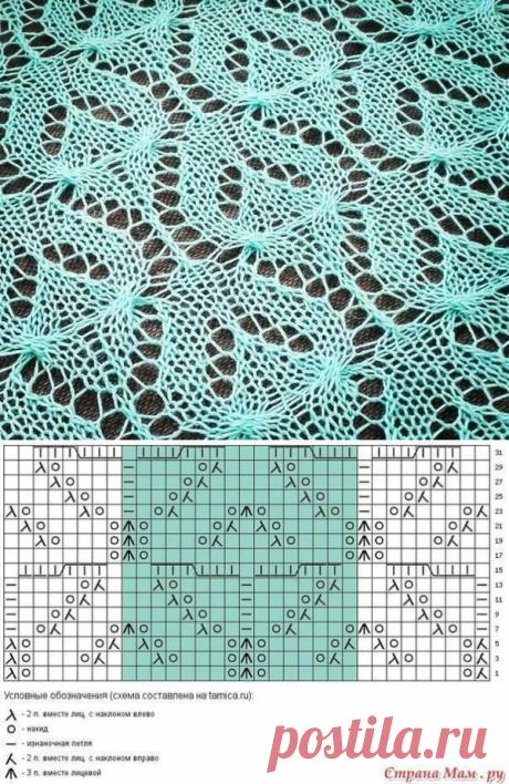 В копилку узоров: 17 новых схем для вязания спицами   Факультет рукоделия   Яндекс Дзен