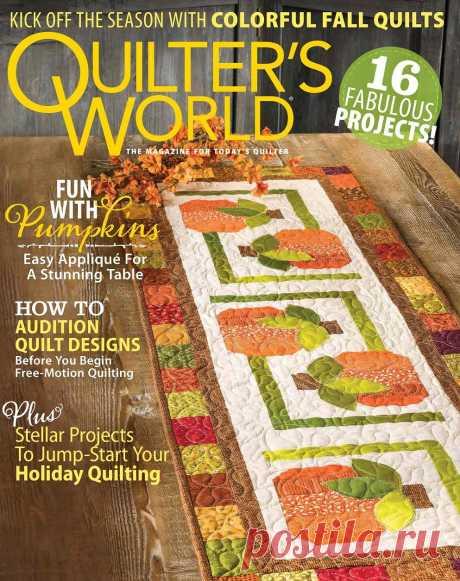 Quilter's World - Autumn 2020