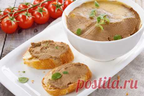 Паштет из куриных сердец — Sloosh – кулинарные рецепты
