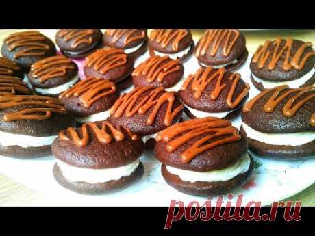 Два противня печенья на кефире за полчаса! Печенье с кремом – простой рецепт