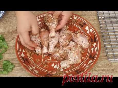 Вот, как нужно готовить курицу! Сочная КУРОЧКА за 40 минут. Куриная голень на мангале!