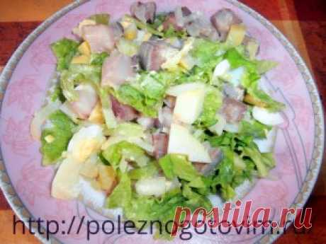 Рецепт простого вкусного салата | Блог Лены Радовой