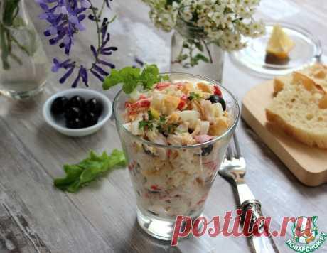 """Салат """"Праздничный"""" – кулинарный рецепт"""