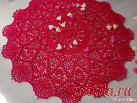 Салфетка Mrdvika by Gangarathna Bhat (Crochet Shelters) - Вязание - Страна Мам