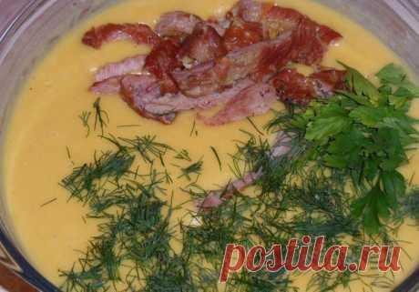 Сырный суп с копченостями« / Всё за еду!