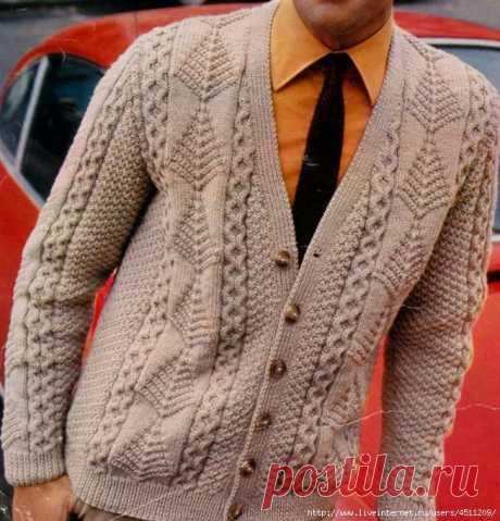 Man's jacket spokes
