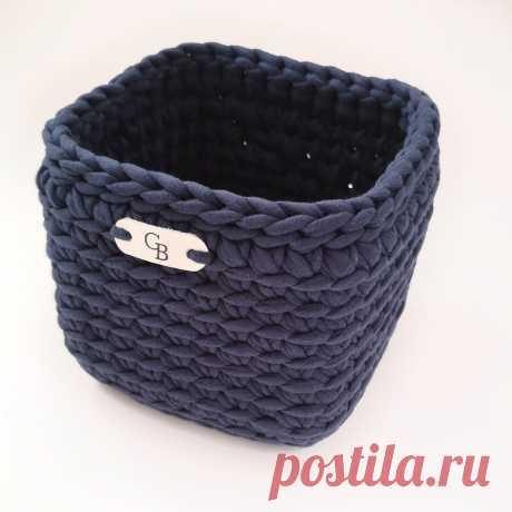 Узор крючком для корзин   МК GLEBBA ковры, корзины крючком   Яндекс Дзен