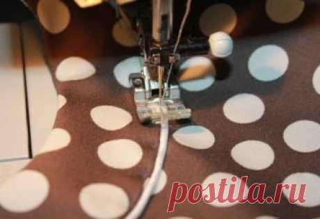 Обработка горловины обтачкой с кантом (Шитье и крой) — Журнал Вдохновение Рукодельницы
