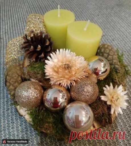 Новогоднее украшение ручной работы ручной работы купить в Минске и Беларуси, цены на HandMade