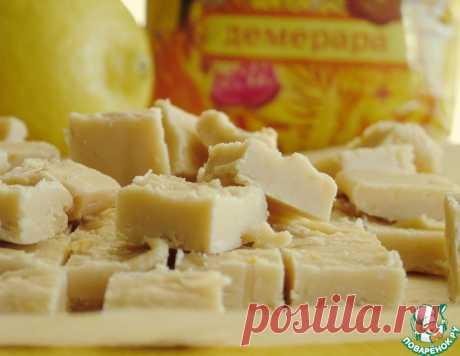 Карамельно-цитрусовый фадж-помадка – кулинарный рецепт