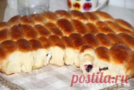 """Вкуснейшие пирожки с творогом """"на один укус"""""""