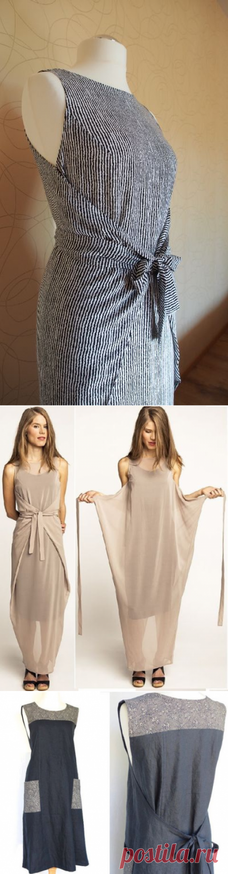 Dresses summer — two options in one — Needlework