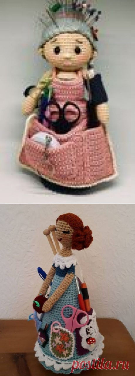 Crochet Crafter Granny Organizer - Free Pattern.