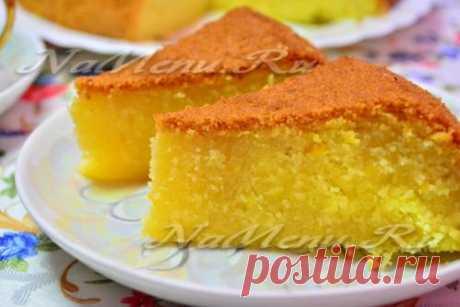 Пирог в мультиварке, простой рецепт с фото