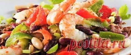 3 салата с фасолью | Поделки, рукоделки, рецепты | Яндекс Дзен