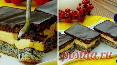 """Вкуснейшее пирожное """"Тоска""""- покорит всех, особенно любителей десертов с ма"""