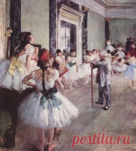 The Dance Class by Edgar_Germain_Hilaire_Degas
