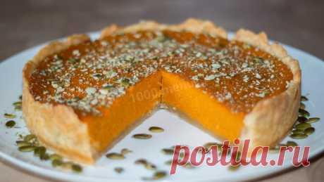 Американский тыквенный пирог рецепт с фото пошагово и видео - 1000.menu
