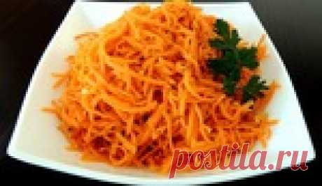 Морковь по-корейски - обалденный рецепт