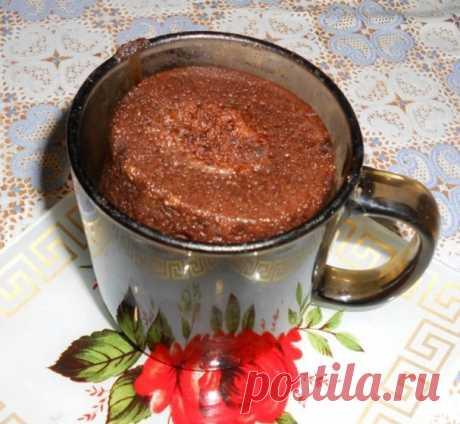 Быстрый кекс в кружке - пошаговый рецепт с фото на Повар.ру