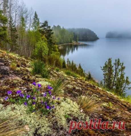 Ладожское озеро, Карелия ...