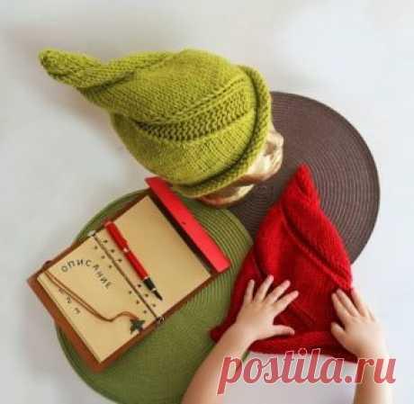 """Уникальная шапочка """"Завиток"""" из категории Интересные идеи – Вязаные идеи, идеи для вязания"""
