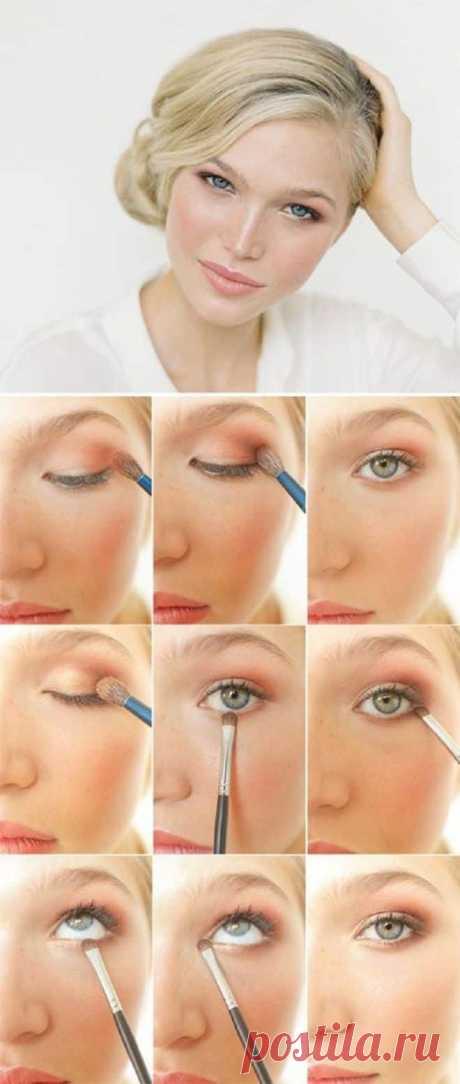 El maquillaje para los pequeños ojos