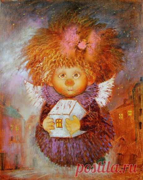 Нечаянная радость. Солнечные ангелы художницы Галины Чувиляевой