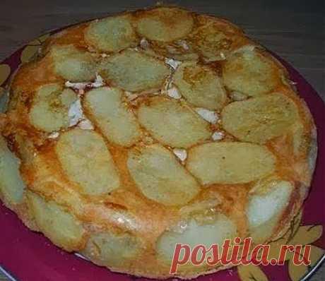 Кулинарные Рецепты: Сытный пирог - это потрясающе!