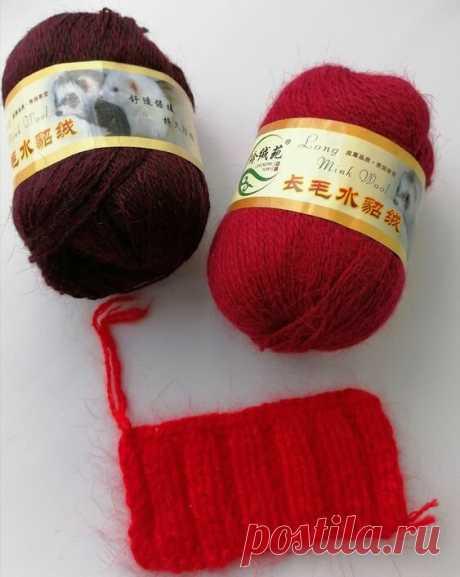 Какая пряжа лучше ангора или пух норки | 1000 идей для вязания спицами | Яндекс Дзен