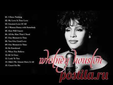 Whitney Houston Greatest Hits Playlist - Best Of Whitney Houston EVER (HD/HQ)