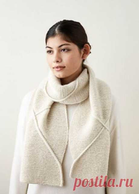 Delicate Cable Scarf pattern by Purl Soho  MATERIALS