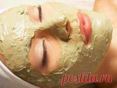 Витаминная маска для лица.