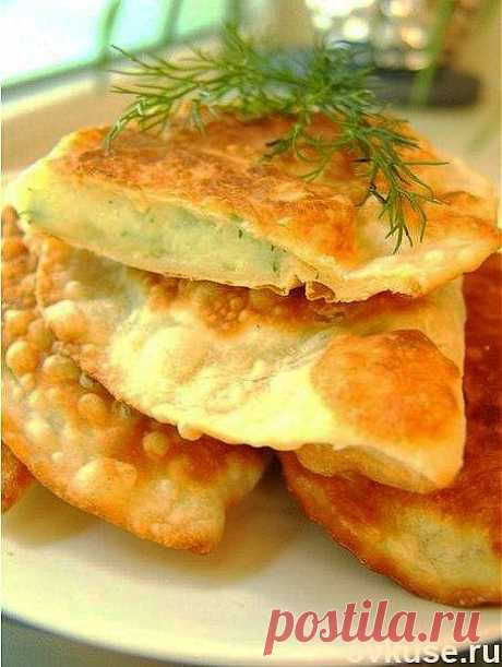 Чебуреки с картофелем и сыром. - Простые рецепты Овкусе.ру