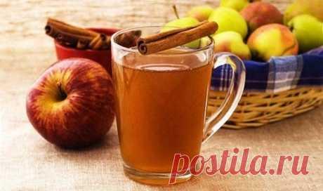 Яблочная вода с корицей - природный ускоритель метаболизма! — Мегаздоров