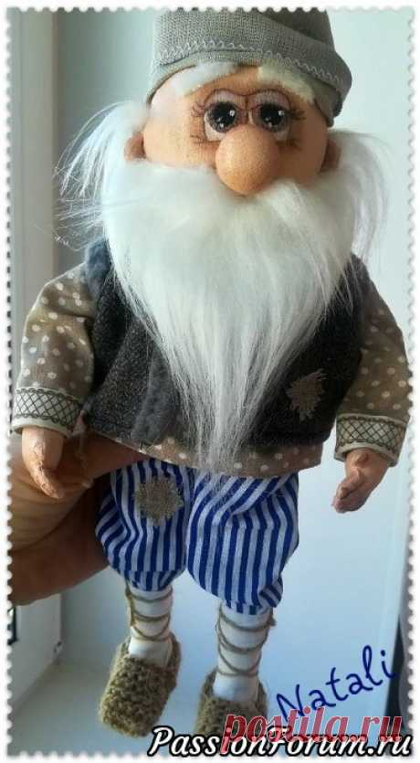Интерьерная игрушка Домовой - запись пользователя Натали в сообществе Мир игрушки в категории Грунтованный текстиль