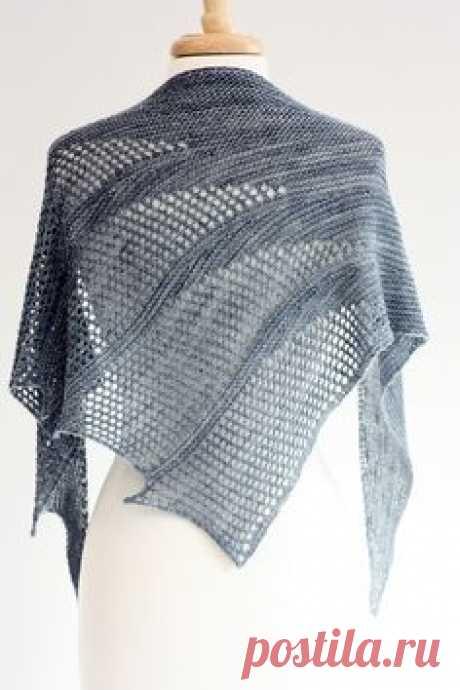 Красивые шарфы-воротники, связанные спицами — Рукоделие   Воротнички