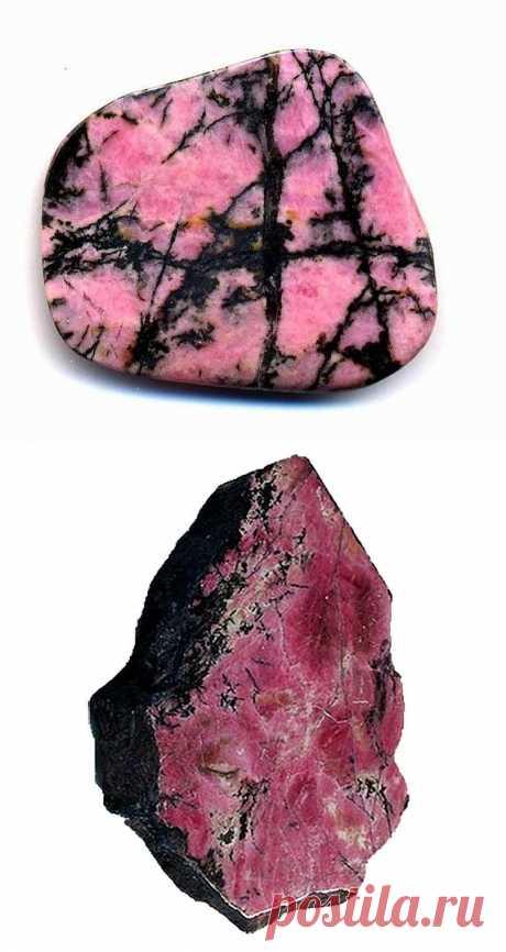 РОДОНИТ - камень утренней зари. Лечебные и магические свойства родонита. / О камнях / Блоги