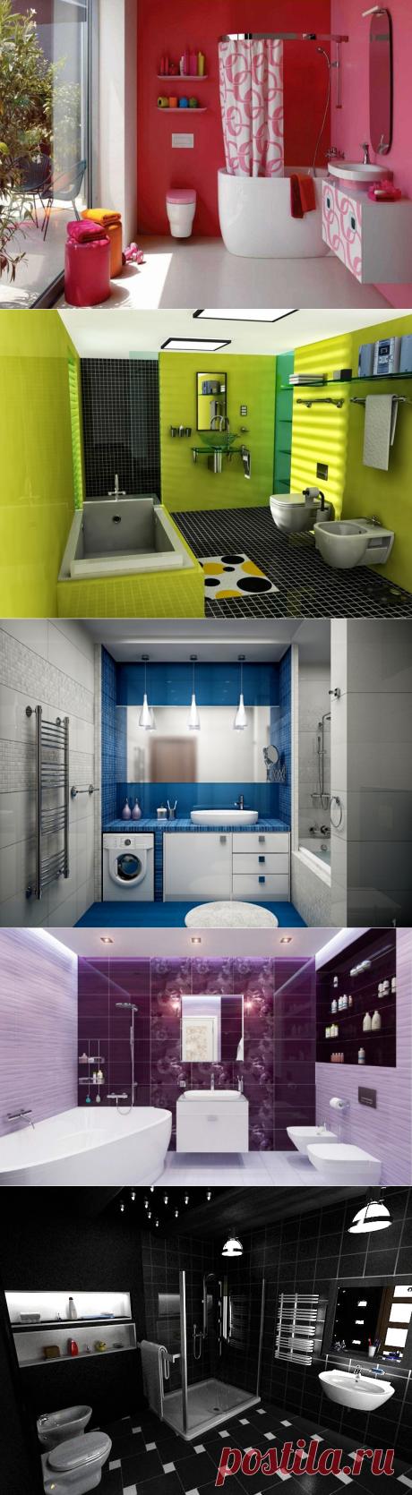 В какой цвет покрасить ванную комнату?