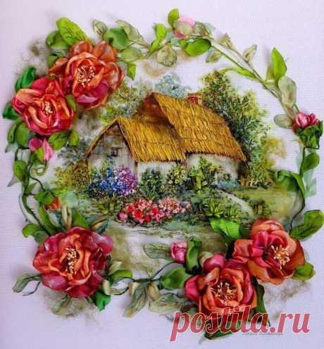 Embroidery tapes. Bravo to the master!\u000d\u000aThe author is Tatyana Korobeynik