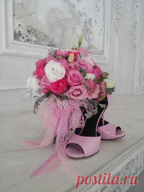 Это фото моей работы. Невеста в полном восторге. А вам нравится???