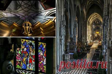 Saint Stephen's cathedral in Vienna. Austria.
