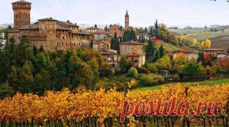 Осень в Италии. Галерея красивых фото..