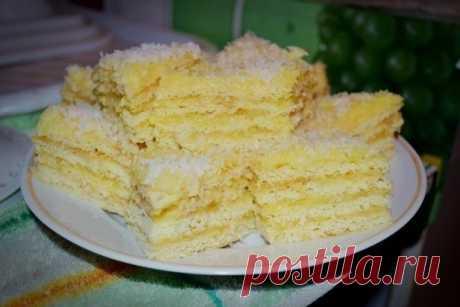 How to make Rafaello's cake. - recipe, ingredients and photos