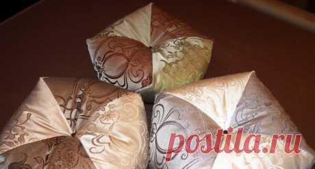 Круглая и одновременно - угловатая подушка | Подушкины секреты | Яндекс Дзен
